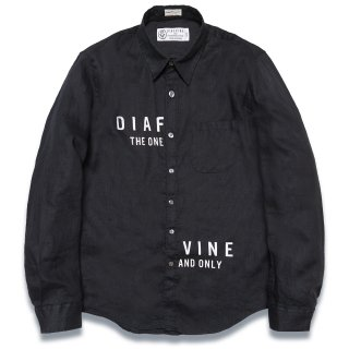 디아프바인(diafvine) DV. LOT571 LINEN SHIRTS -BLACK-