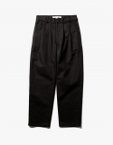 아이졸라(IZOLA) Wide Chino Pants - Black