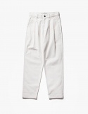 아이졸라() Wide Chino Pants - Off White