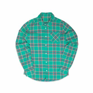 필이너프(feelenuff) FLANNEL CHECK SHIRTS (GREEN)