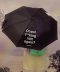 (LV-19304) ROLA LABEL UMBRELLA BLACK