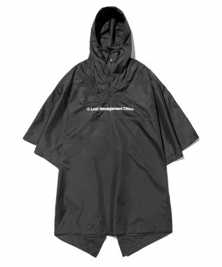 엘엠씨(lmc) LMC 2.5 LAYER WATER PROOF PONCHO black