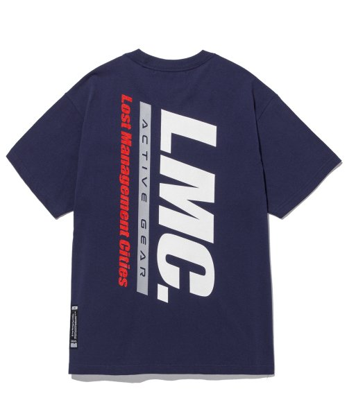 엘엠씨(LMC) LMC ACTIVE GEAR TEE navy