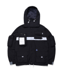 더블에이씨(DOUBLE A.C) 9-POCKET SMOCK JACKET (black)