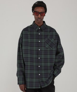 테이크이지(takeasy) PREMIUM HIGH DENSITY SHIRTS (DARK/GREEN)