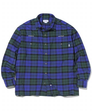 디스이즈네버댓(thisisneverthat) HSP Check Shirt  Navy