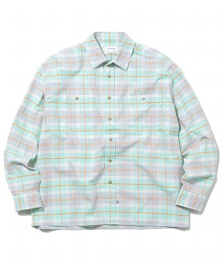 디스이즈네버댓(thisisneverthat) HSP Check Shirt  Mint