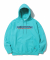 디스이즈네버댓(THISISNEVERTHAT) SP-INTL. Logo Hooded Sweatshirt Blue Green