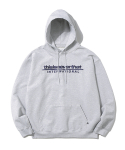 디스이즈네버댓(THISISNEVERTHAT) SP-INTL. Logo Hooded Sweatshirt Grey