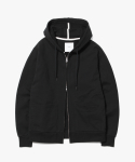 제로() Minimal 2Way Hoodie Zip Up [Black]