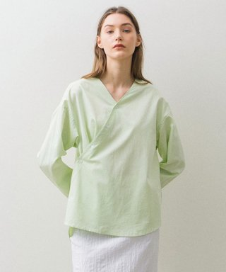 논로컬(nonlocal) Unblance Shirts - Lime