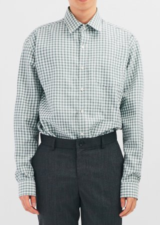 노블클로즈(novelclothes) N/gingham check shirt