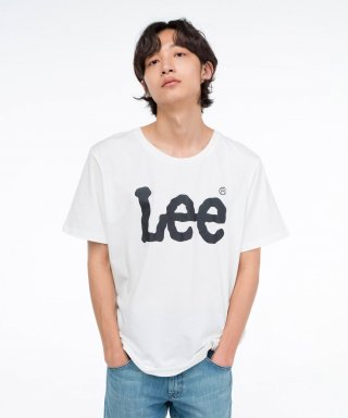 리(lee) 빅 로고 반팔티 BIG LOGO HALF TEE-WHITE/BLACK