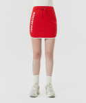 5252 바이 오아이오아이() SIDE LOGO TRACK SKIRTS_red