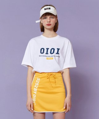 5252 바이 오아이오아이(5252byoioi) 2019 SIGNATURE T-SHIRTS_white