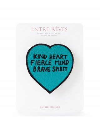 앙트레브(entrereves) BRAVE HEART PATCH