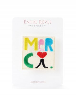 앙트레브(entrereves) MERCI PATCH