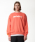 덕다이브(DUCKDIVE) EMOTION LOGO_CREWNECK_CORAL