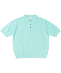 디스이즈네버댓() Jacquard Knit Polo Mint