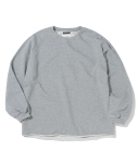 디스이즈네버댓(THISISNEVERTHAT) TNT X GRAMICCI TALECUT SWEAT Heather Grey