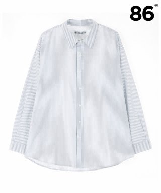 86로드(86road) BREEZE STRIPE SHIRTS (GREY)