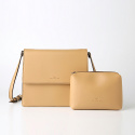 풀포(PULPO) Trapezoid Cross Bag (Beige) - P007C_BE