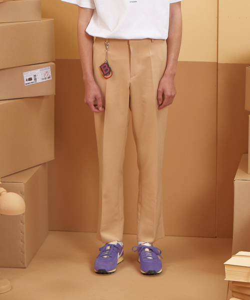 버닝(BURNING) Standard Slacks (Beige)