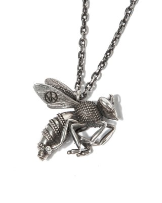 킹(king) HANA-BEE Necklace (Silver)