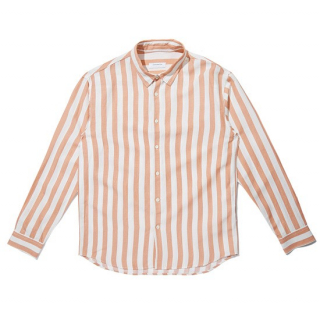 커스텀멜로우(customellow) brushed bold stripe shirt _CWSAM19281PIX