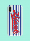 블랭크() STRIPE RIBBON CASE-BL