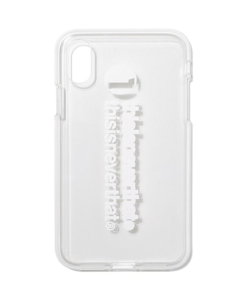 디스이즈네버댓(THISISNEVERTHAT) 1-thisisneverthat iPhone Case X&Xs White
