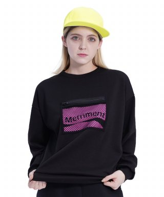 메리먼트(merriment) (UNISEX)Screen Zipper MTM (BLACK)