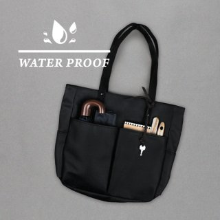 모노노(monono) 6 Pocket 3 Way Bag - Coated Canvas ( 코팅 캔버스 ) ( Matt Black )