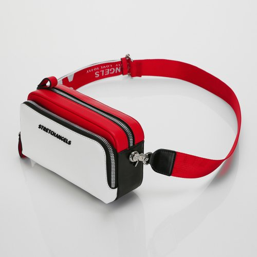 스트레치 엔젤스(STRETCH ANGELS) [파니니백]PANINI color block bag (Red)
