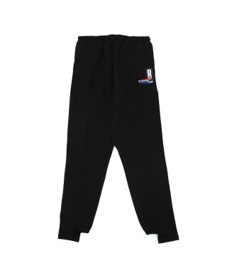 바우와우(bowwow) CUT ATTACH SWEAT PANTS / BLACK