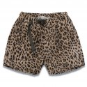 디아프바인() DV. LOT591 LEOPARD WAIST BELT SHORTS -BROWN-