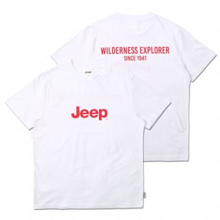 지프(jeep) Wilderness Explorer Tee (GK5TSU151WH)