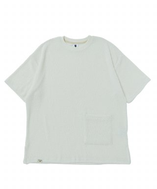 어낫띵(anothing) SOFT TOWEL POCKET 1/2 TEE (Ivory)