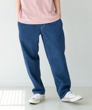 퍼스트플로어(firstfloor) LAZY PANTS (RETRO BLUE)