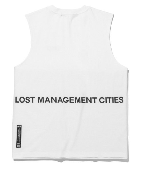엘엠씨(LMC) LMC OG OVERSIZED SLEEVELESS white