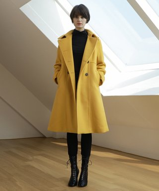 알렌오(alleno) yellow coat