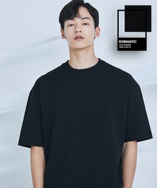 로맨틱 파이어리츠(romanticpirates) YORK OVER FIT T-SHIRT(BLACK)