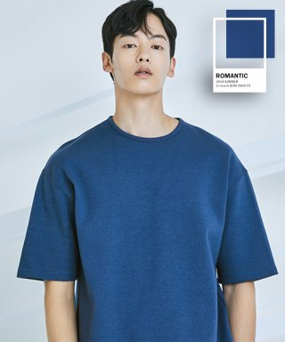 로맨틱 파이어리츠(romanticpirates) C.r.e.a.m SEMI OVER FIT T-SHIRT(PERSIAN BLUE)