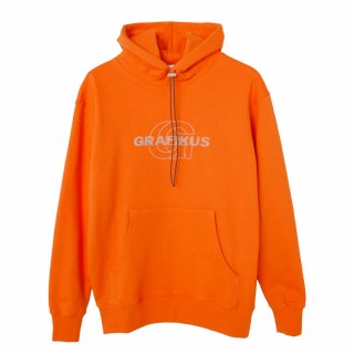 그래피커스(grafikus) Reflective-Orange-Hoodie