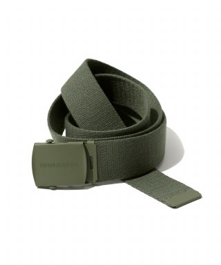 유니폼브릿지(uniformbridge) og logo army belt khaki