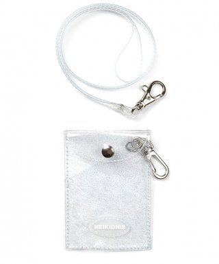 네이키드니스(neikidnis) GLITTER CARD WALLET / CLEAR