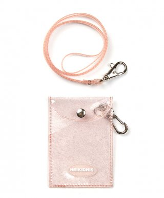네이키드니스(neikidnis) GLITTER CARD WALLET / PEACH