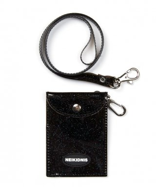 네이키드니스(neikidnis) GLITTER CARD WALLET / BLACK