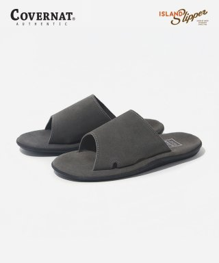 커버낫(covernat) COVERNAT X ISLAND SLIPPERS CHARCOAL