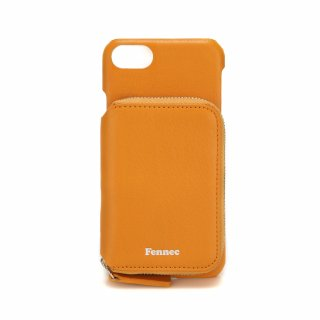 페넥(fennec) LEATHER iPHONE 7/8 MINI POCKET CASE - MANDARIN